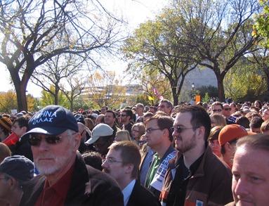 Crowd in Washington
