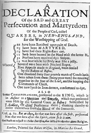 Early Quaker publication