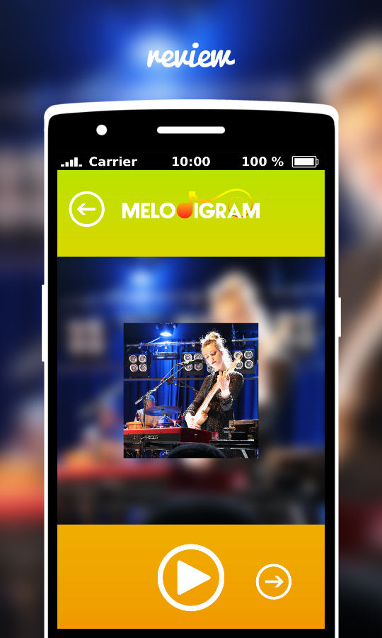 Melodigram- screenshot