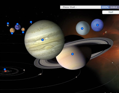 Chiew's CLIL EFL ESL Blog: Planets