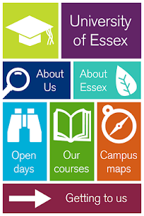 University of Essex app - screenshot thumbnail