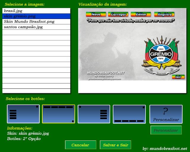 registro para brasfoot 2011