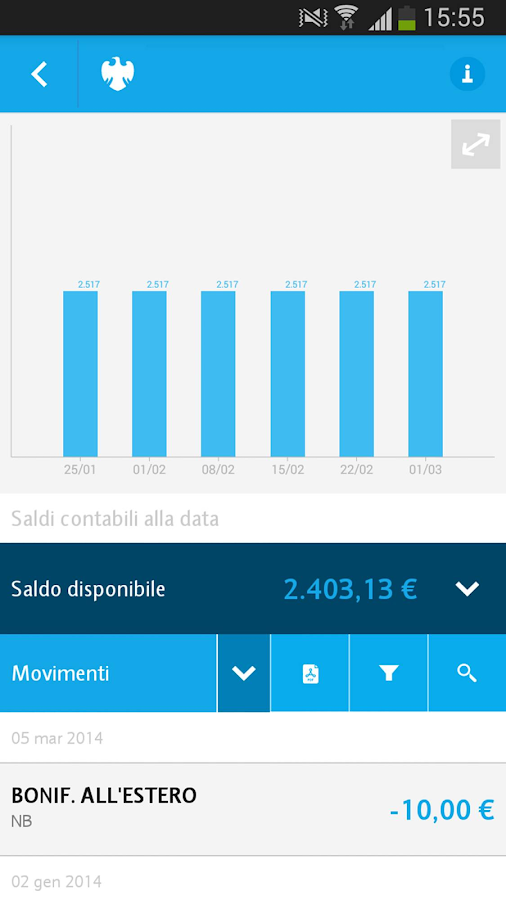 Barclays Italy- screenshot