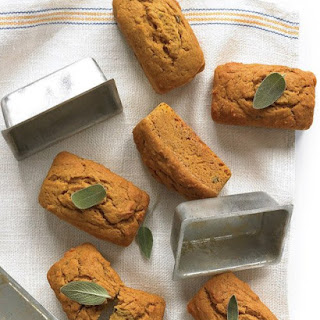 Pumpkin, Sage, and Browned-Butter Quick Breads