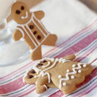 Gingerbread People Cookies.