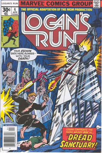 Marve Comics, Logan's Run #4, George Perez