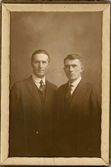 HOmer and Frank Newcombe Mothers Brothers