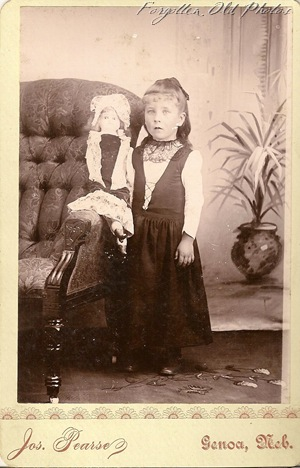 Page 31 Little Girl with doll