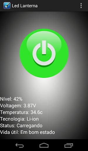 【免費工具App】Led Lanterna e Bateria-APP點子