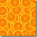 A slices of fresh orange background.