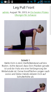 Pilates Übungen - screenshot thumbnail
