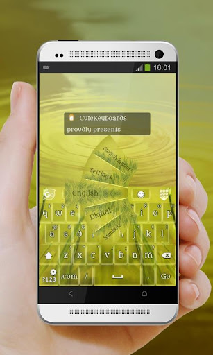 草入侵 GO Keyboard Theme