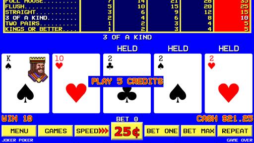 Sin City Video Poker