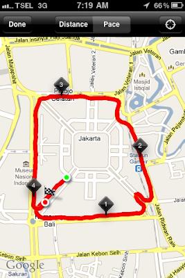Nike+ GPS iPhone 3GS