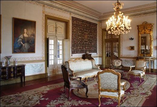 Click portugal pal cio nacional de queluz parte 1 for Sala de estar palacio