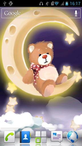 Bear on the moon LWP