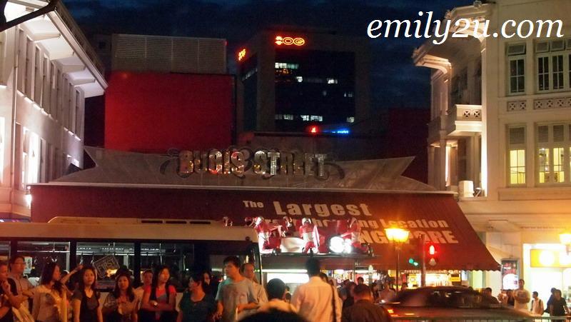 Night Scene At Bugis Street, Singapore