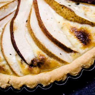 Pascal Rigo's Blue Cheese, Pear, and Pecan Quiche