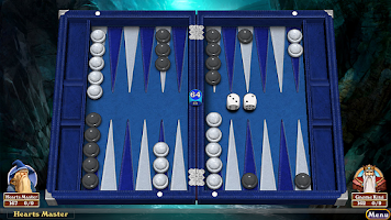 Screenshot of Hardwood Backgammon