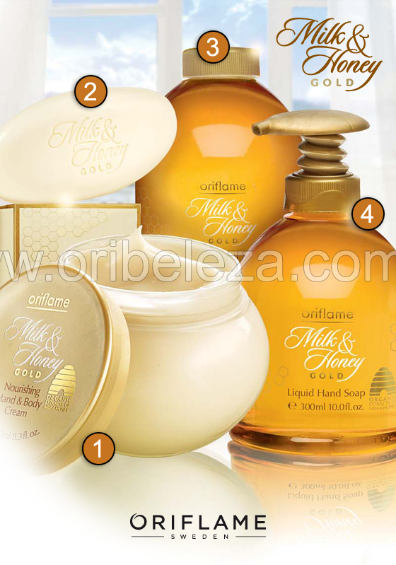 Oriflame Milk & Honey Gold – Catálogo 06/2011