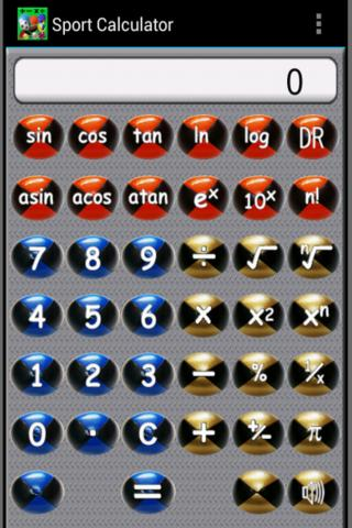 Sport Calculator Soccer HD - screenshot
