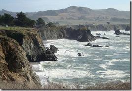 Northern California Pacific Coast View