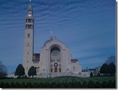 Immaculate Conception Basilica Washington DC