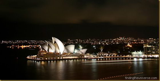 Sydney Harbour Bridge at Night - New South Wales - Australia 2010