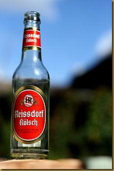 Beer bottle lower depth of field f/2.2 1/3200th sec