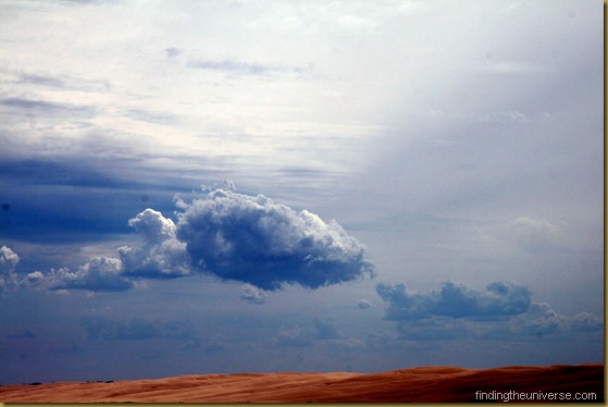 Clouds over the Stockton Bight, the largest moving sand dune in the southern hemisphere - New South Wales - Australia 2