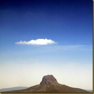 Lonely cloud in Tasmania