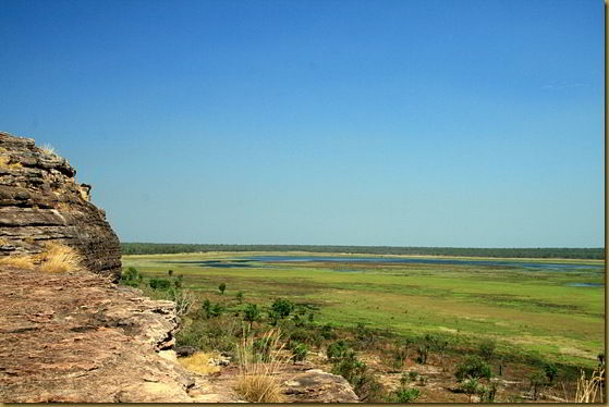 View from the top of Ubirr