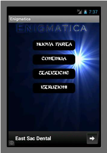 Enigmatica- screenshot