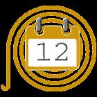 2017 Holidays Calendar icon