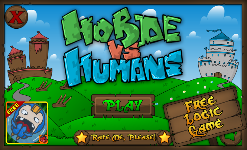 Horde vs Humans - screenshot