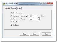jrdirectoryprinter