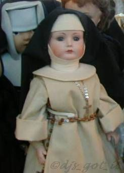 Nun dolls doll habit Catholic