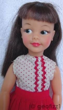 Tammy Pepper Patti Ideal doll Montgomery Wards Exclusive 1960s