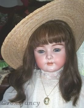Antique bisque doll Simon & Halbig Heinrich Handwerck S & H