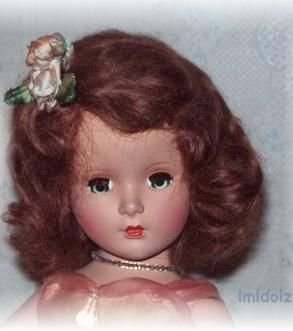 Madame Alexander Princess Margaret Rose Bridesmaid doll 1940s