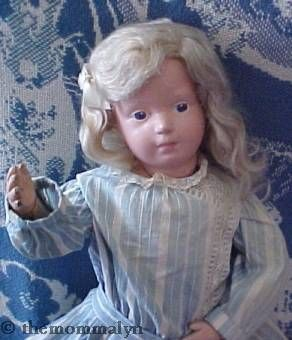 Schoenhut doll wood wooden antique