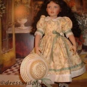 Helen Kish doll Winter Season dressurdolly