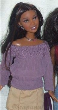Mattel Barbie Fashion Fever Desiree Wave L 2005