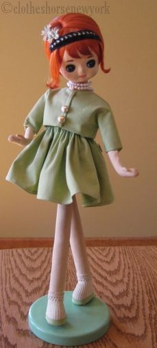Pose doll Holiday Fair Japan Bradley type 1960s