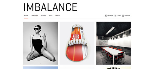 Imbalance wordpress template