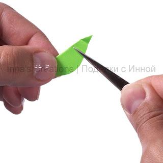 Grip with tweezers