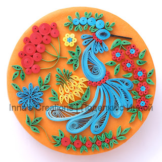 Quilling decorated box