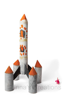 Space rocket kids craft