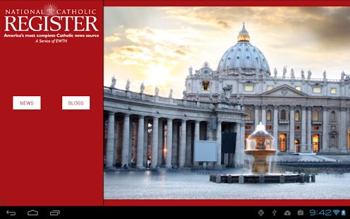 National Catholic Register- screenshot thumbnail