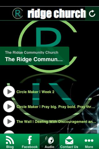 The RIdge Church - screenshot